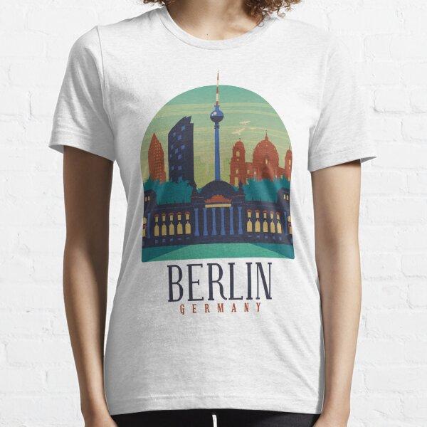 Berlin City Monuments Skyline Essential T-Shirt