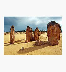 The Pinnacles, Cervantes, Western Australia Photographic Print
