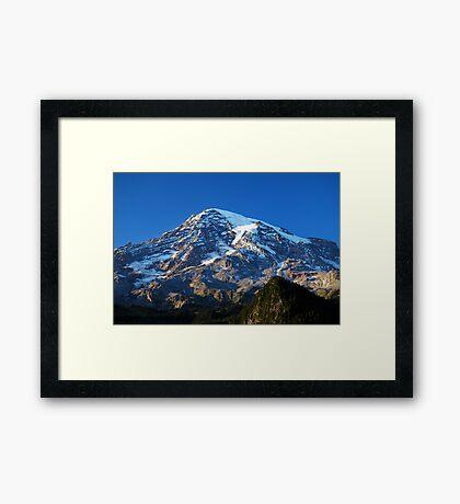 Blue Rainier Framed Print