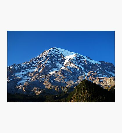 Blue Rainier Photographic Print