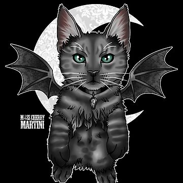 Bat Cat by CherryMartini