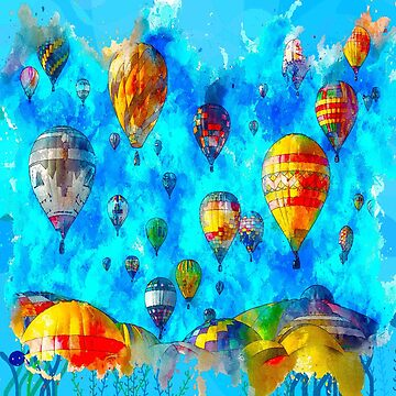Hot Air Balloons  by Delights