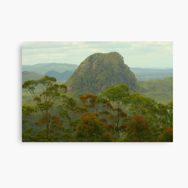 Mount Tibrogargan in the Glasshouse Mtns Canvas Print