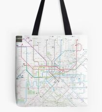 London tube map Tote Bag