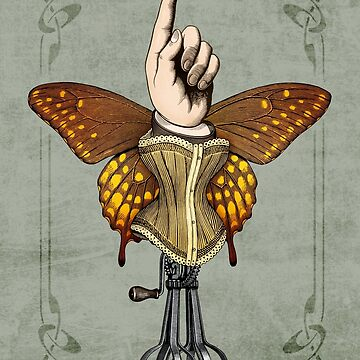 Butterhand Portrait by pepetto