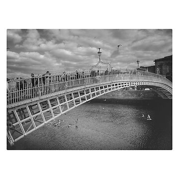 Ha'penny Bridge Dublin Ireland Temple Bar photo  by cutehuur