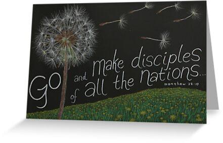 Matthew 28:19 by propheticart