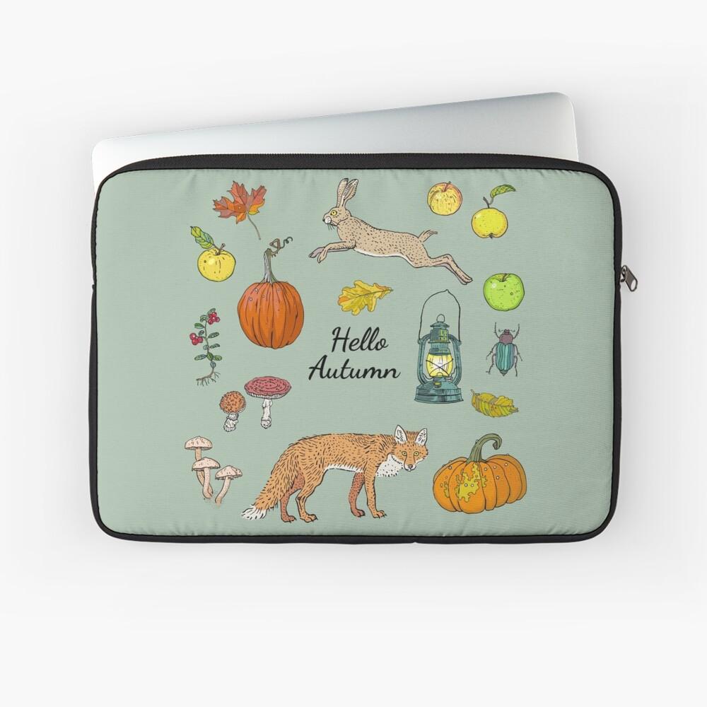 Hello autumn. Harvest season. Laptop Sleeve