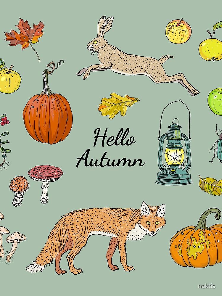 Hello autumn. Harvest season. by naktis