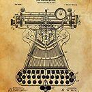 Typewriter Patent by Igor Drondin