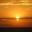 Setting Sun - 9-11 by Gloria Abbey