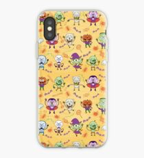 Funny Halloween characters pattern iPhone Case