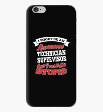 TECHNICIAN SUPERVISOR T-shirts, i-Phone Cases, Hoodies, & Merchandises iPhone Case