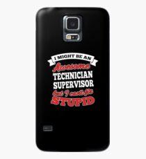 TECHNICIAN SUPERVISOR T-shirts, i-Phone Cases, Hoodies, & Merchandises Case/Skin for Samsung Galaxy