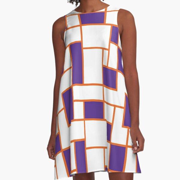 South Carolina - RetroRectangle A-Line Dress
