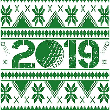 Golf New Year 2019 by iwaygifts
