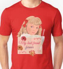 Camiseta ajustada Nellie Oleson pequeña casa mi mejor amiga para siempre
