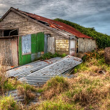 The Study of an old farm shed 2 - Experienced in HDR by scatrdjason