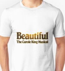 Camiseta ajustada Hermoso el musical de Carole King