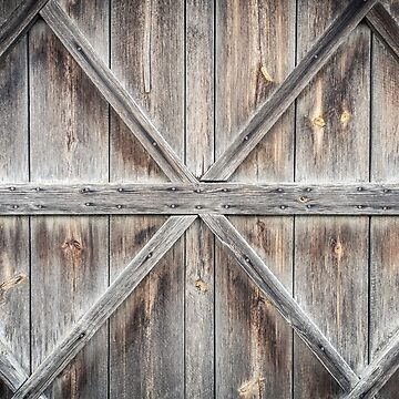 Old wooden door background by LukeSzczepanski
