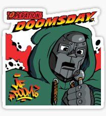 Hop Rock Doom Sticker