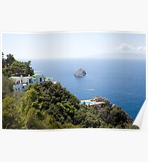 Monte Argentario, Tuscany coast, Italy Poster