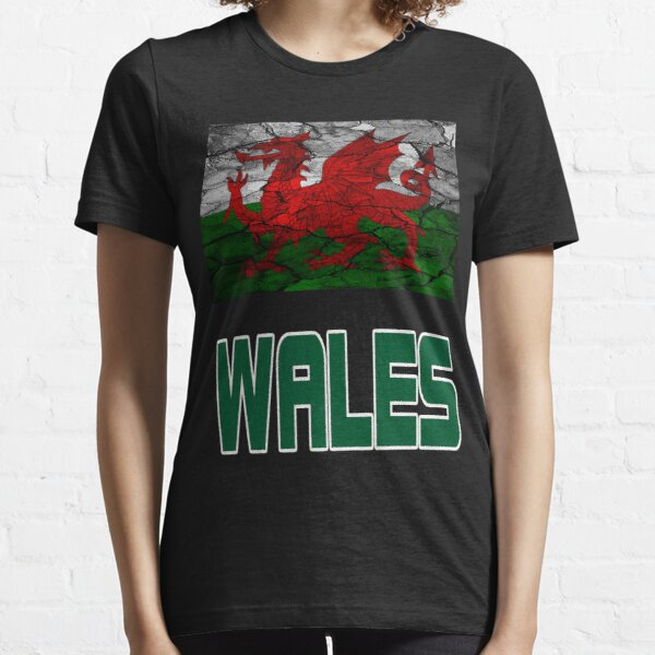 Wales T-shirt United Kingdom England and Wales Border Gift Top