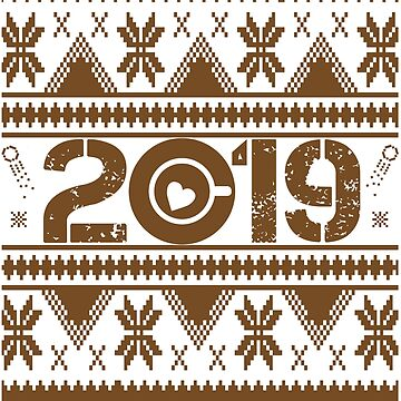 Coffee New Year 2019 by iwaygifts