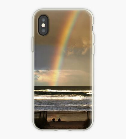 Watchin the Rainbow iPhone Case