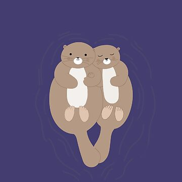 Otters by narais