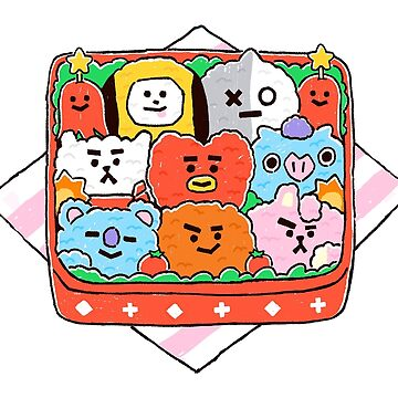 BT21 Doshirak by Kpopgroups