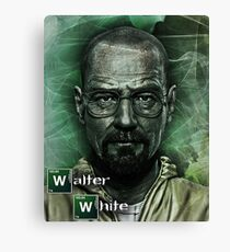 Walter White poster Canvas Print