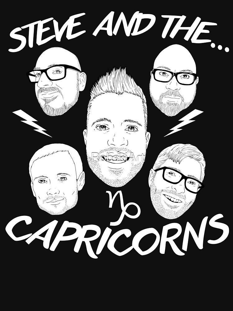 Steve and the Capricorns by RobskiArt
