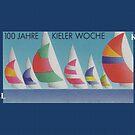 Kiel Week...100 Years Anniversary 1982 by edsimoneit