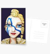 Huntress (Watercolor Version) Postcards