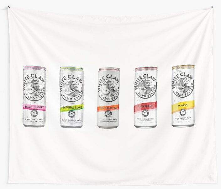 White Claw Cans by CollectionsbyH