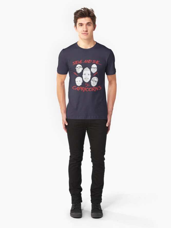 Alternate view of Steve and the Capricorns Slim Fit T-Shirt