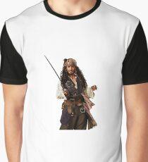 Captain Jack Sparrow Graphic T-Shirt