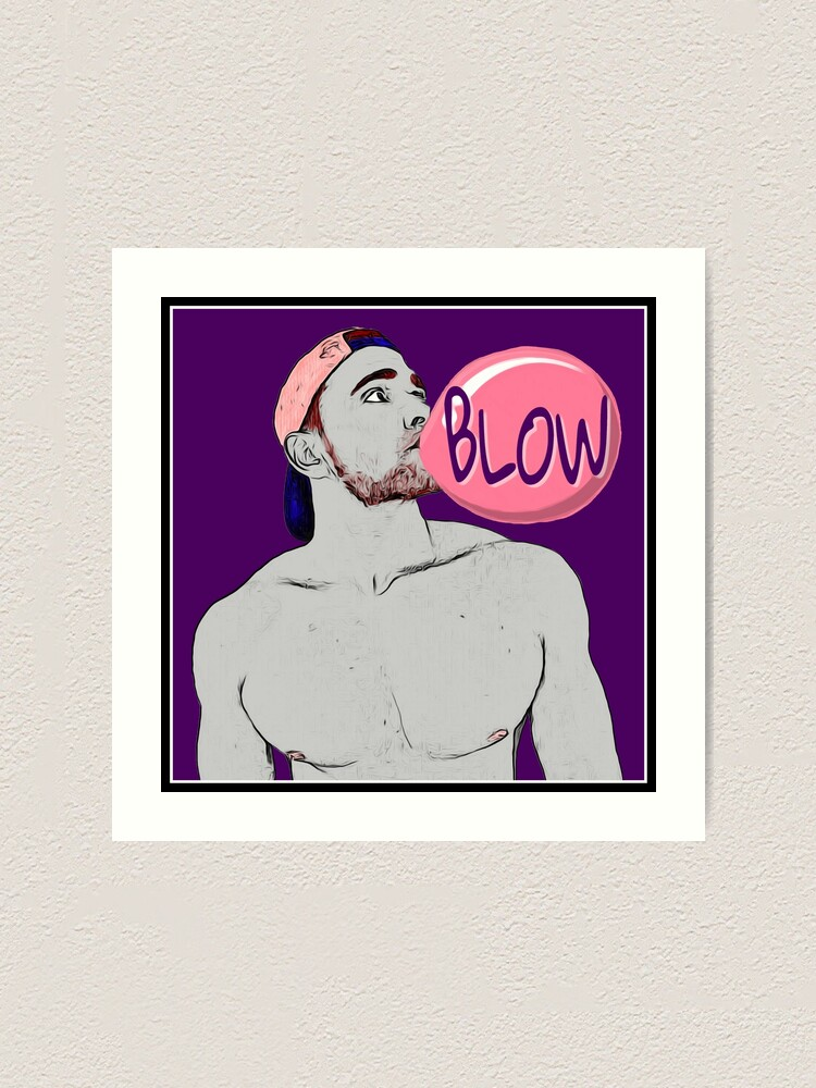 Alternate view of Blow (Art) Art Print