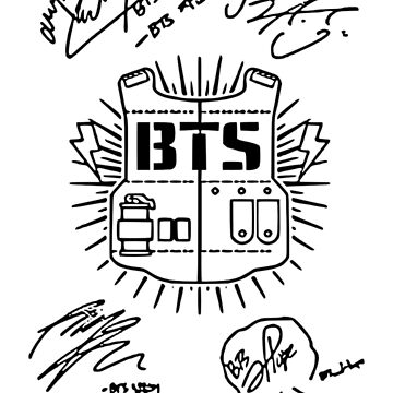 BTS Autographs by Kpopgroups