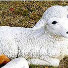 A Lamb Statue ~ Reminder of God's Love by Marie Sharp