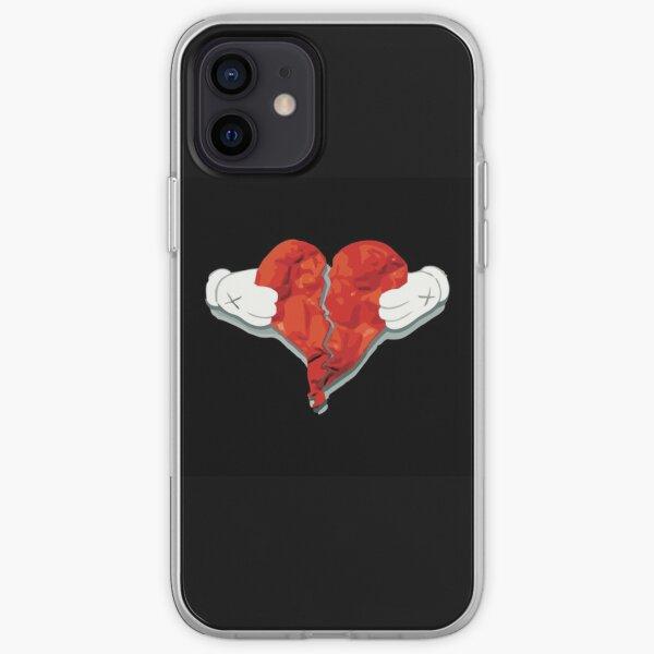 corazón roto Funda blanda para iPhone