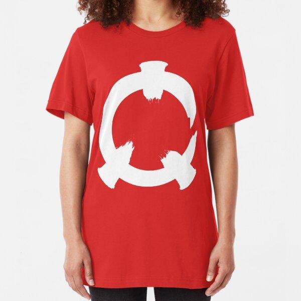 Reflex - White Logo Slim Fit T-Shirt