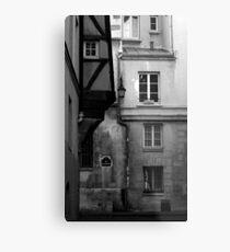 Rue des Barres Metal Print