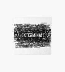 Exterminate 1  Art Board