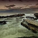 Susan Gilmore Beach at Dusk by Mark Snelson