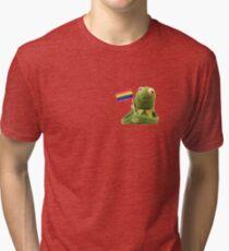 Camiseta de tejido mixto Orgullo Kermit