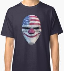 Dallas-Masken-Zahltag Classic T-Shirt