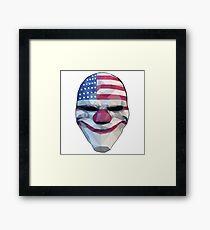 Lámina enmarcada Dallas Mask Payday