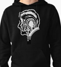 12 Doctor Who Silhouettes Pullover Hoodie